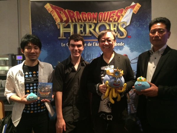 Team Dragon Quest Heroes