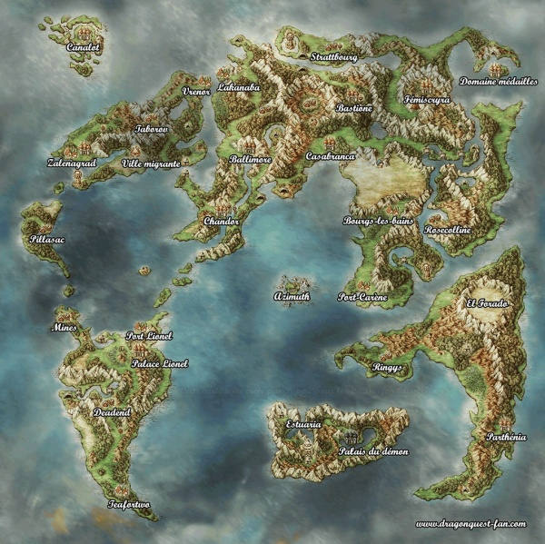 Dragon Quest IV  MAP