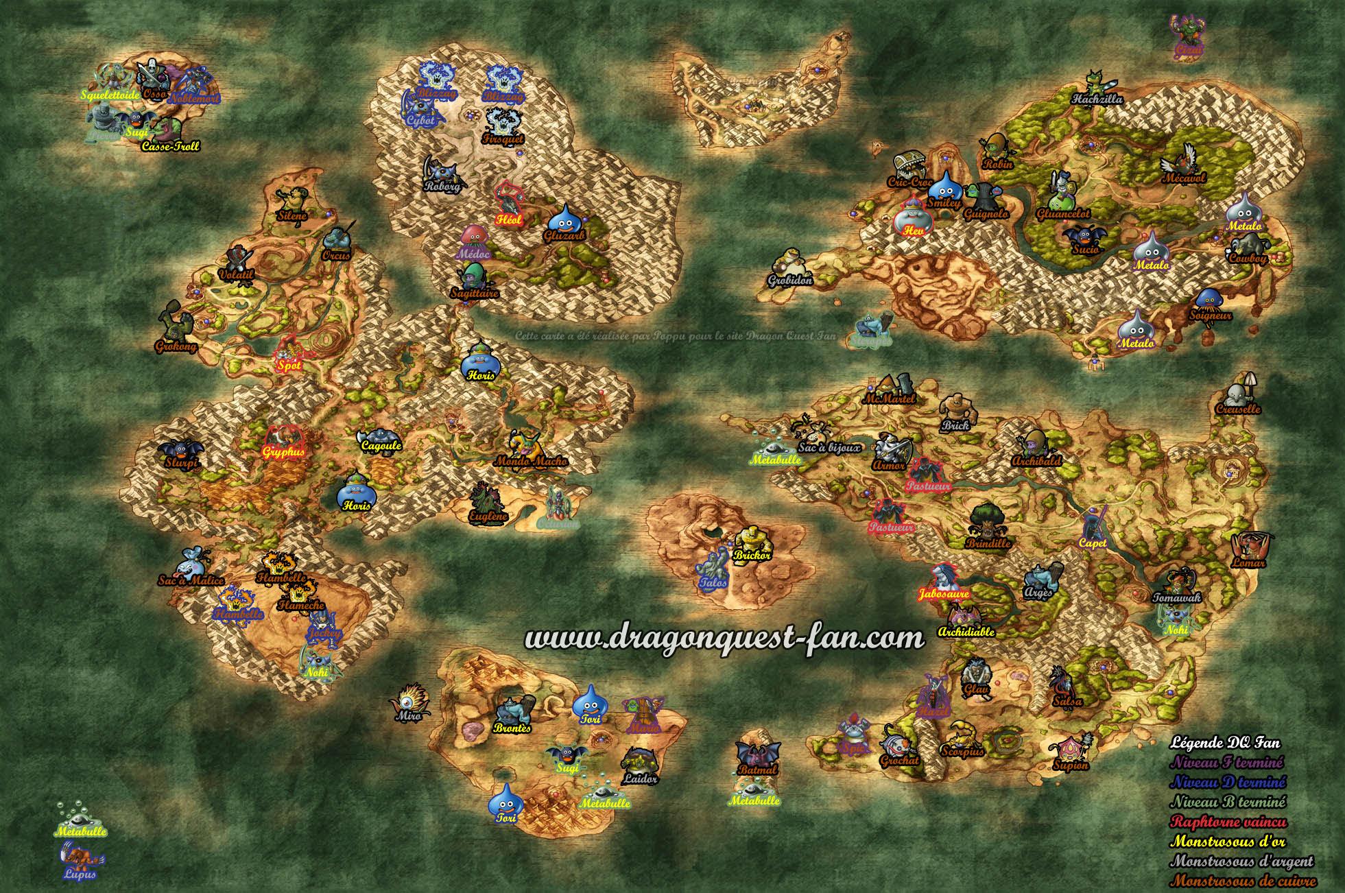 Forum Dragon Quest Fan Acceder au plateau isol