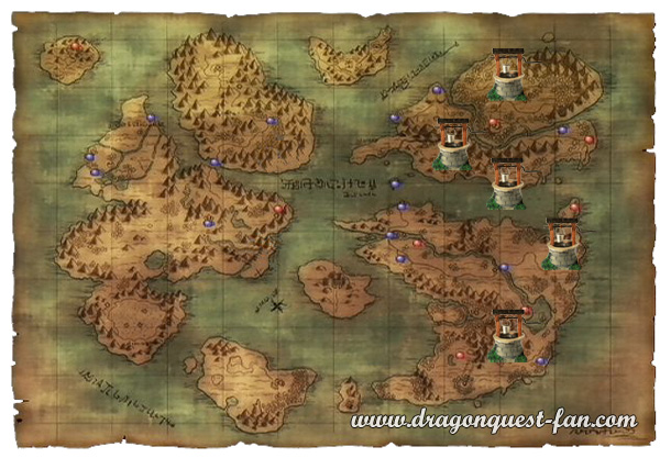 Carte Puits Dragon Quest