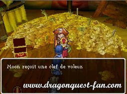 gluants de métal dragon quest 9