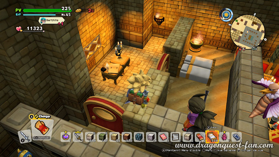 Dragon Quest Builders 2 Hotel