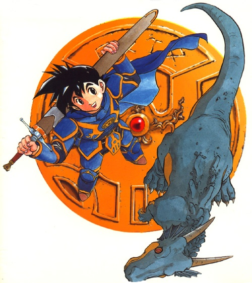Dragon Quest Roto no Monshou Artwork