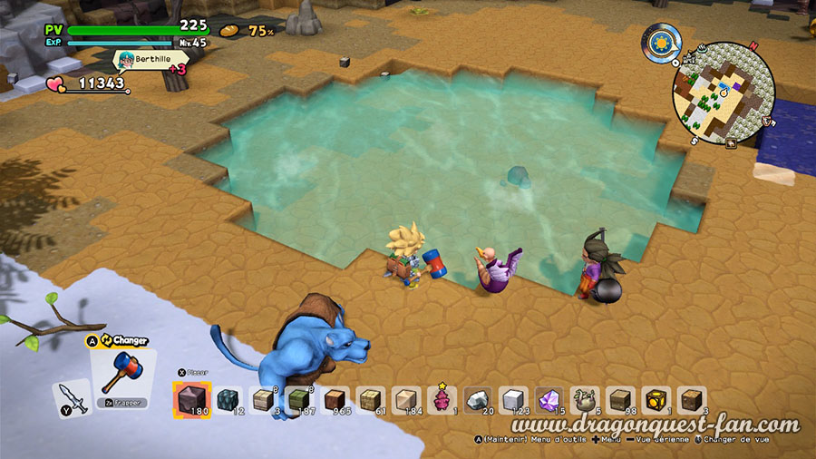 Dragon Quest Builders 2 Creez pleins environnements differents