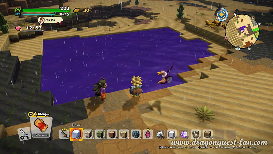 Dragon Quest Builders 2 Marais