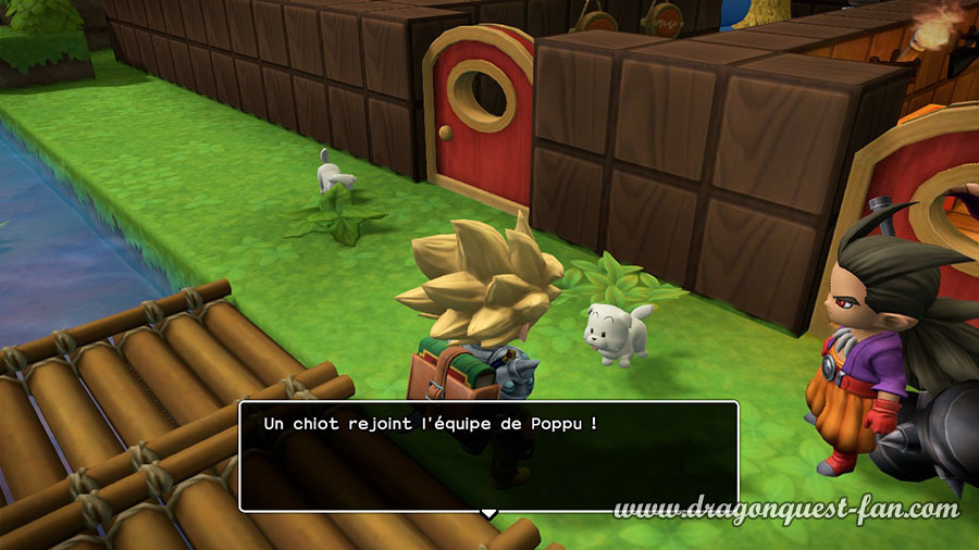 Dragon Quest Builders 2 Accoupler les animaux